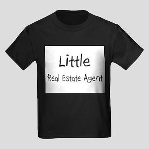 Little Real Estate Agent Kids Dark T-Shirt