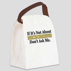Microbrews Canvas Lunch Bag