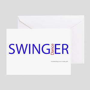 All Swing Dances Greeting Card
