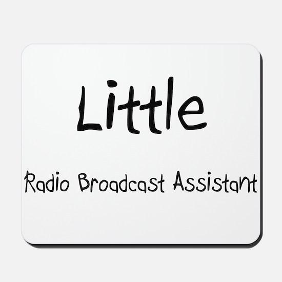 Little Radio Broadcast Assistant Mousepad