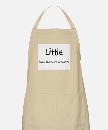 Little Radio Broadcast Assistant BBQ Apron
