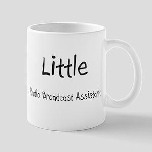 Little Radio Broadcast Assistant Mug