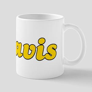 Retro Mavis (Gold) Mug