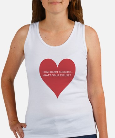 I had heart surgery, what's y Women's Tank Top