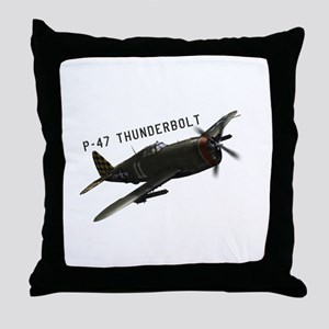 Republic P-47 Throw Pillow