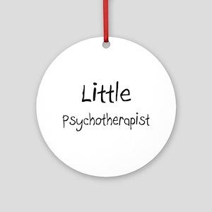 Little Psychotherapist Ornament (Round)