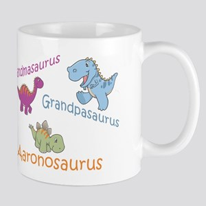 Grandma, Grandpa, & Aaronosau Mug