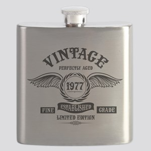 Vintage Perfectly Aged 1977 Flask