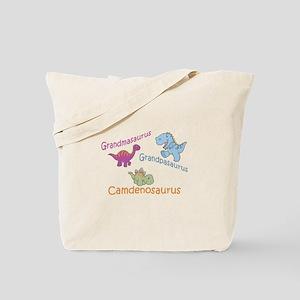 Grandma, Grandpa, & Camdenosa Tote Bag
