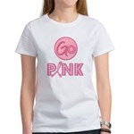 Go Pink Breast Cancer Women's T-Shirt