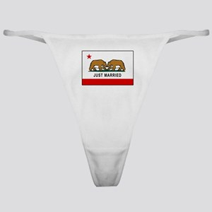California Gay Marriage Classic Thong