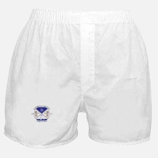 GARRETT-COUNTY-SEAL Boxer Shorts