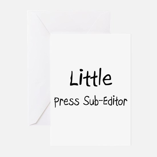 Little Press Sub-Editor Greeting Cards (Pk of 10)
