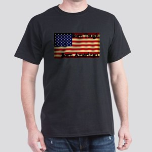 Born Tough Born American Dark T-Shirt