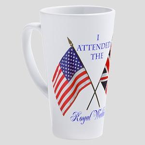 Royal Wedding 17 oz Latte Mug