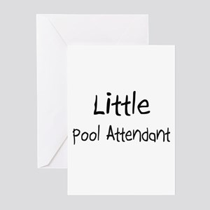 Little Pool Attendant Greeting Cards (Pk of 10)