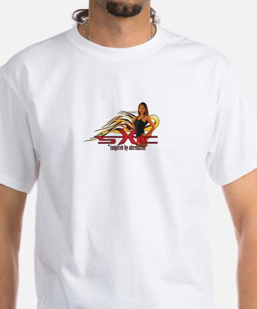 """Limited Edition """"Flames"""" White T-Shirt"""