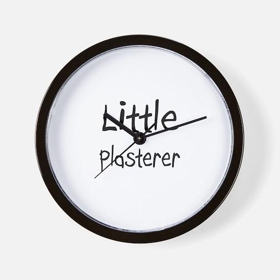 Little Plasterer Wall Clock
