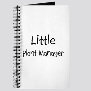 Little Plant Manager Journal