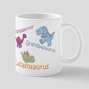 Grandma, Grandpa, & Lucasosau Mug