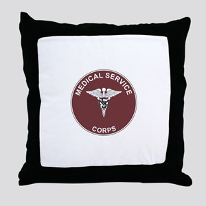 MEDICAL-SERVICE-CORPS Throw Pillow