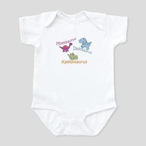 Mom, Dad, & Kalebosaurus Infant Bodysuit
