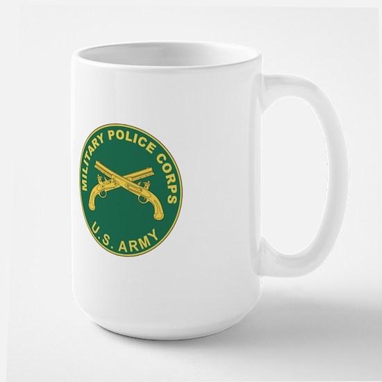 MILITARY-POLICE Large Mug