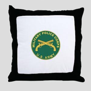 MILITARY-POLICE Throw Pillow
