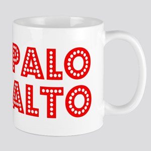 Retro Palo Alto (Red) Mug