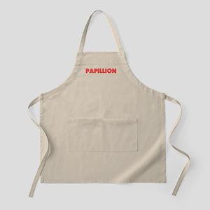Retro Papillion (Red) BBQ Apron