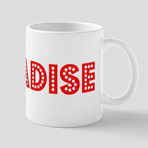 Retro Paradise (Red) Mug