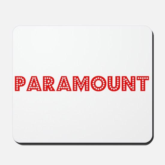 Retro Paramount (Red) Mousepad