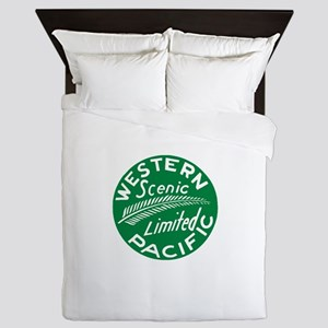 Western Pacific Scenic Limited Queen Duvet