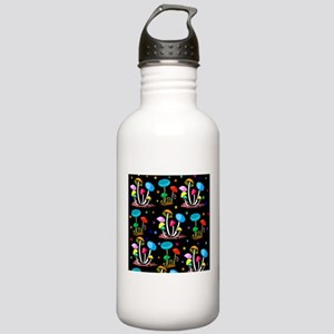 Rainbow Of Mushrooms Stainless Water Bottle 1.0L