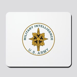 MILITARY-INTELLIGENCE Mousepad