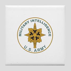 MILITARY-INTELLIGENCE Tile Coaster