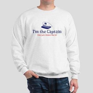 I'm the Captain 2 Sweatshirt