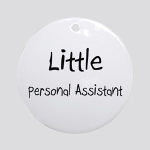 Little Personal Assistant Ornament (Round)