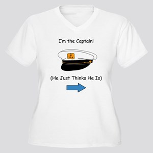 Im the captain for her Plus Size T-Shirt