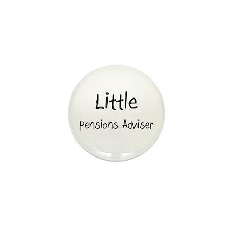 Little Pensions Adviser Mini Button (10 pack)