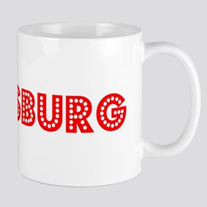 Retro Petersburg (Red) Mug
