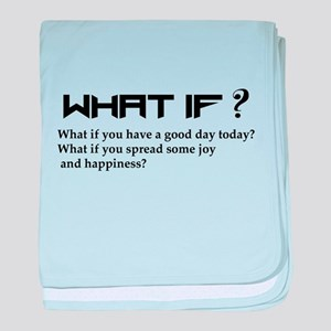 WHAT IF? baby blanket