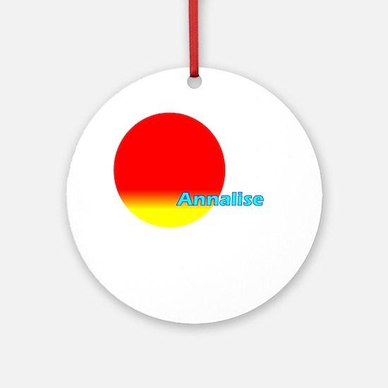 Annalise Ornament (Round)