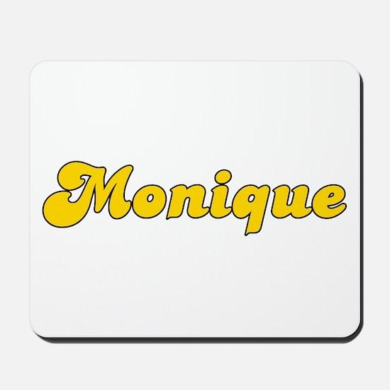 Retro Monique (Gold) Mousepad