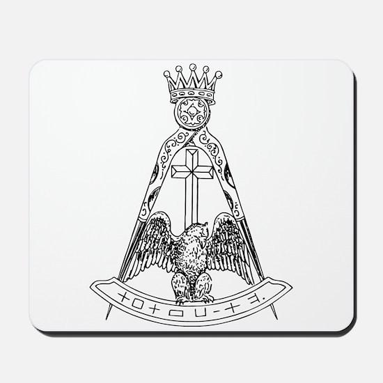 Scottish Rite 18dgr Mousepad
