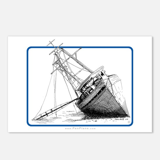'Beached' Postcards (Package of 8)