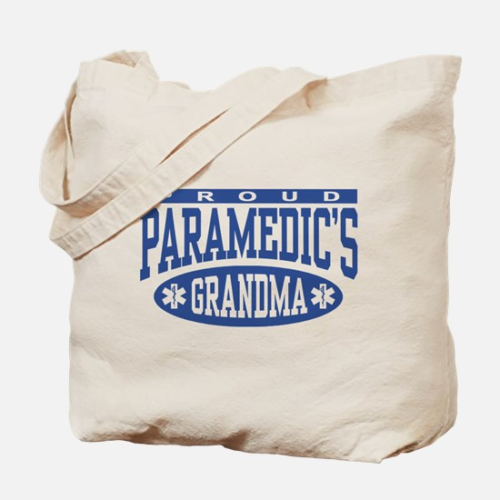 Proud Paramedic's Grandma Tote Bag
