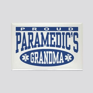 Proud Paramedic's Grandma Rectangle Magnet