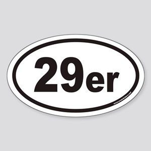 29er Euro Oval Sticker