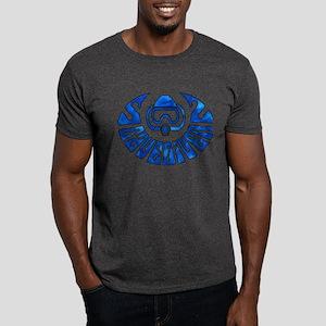 Cave Diver Line Arrow Blue Dark T-Shirt